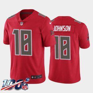 Tampa Bay Buccaneers Tyler Johnson Red Rush Jersey